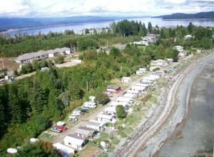 Rv park Deep Bay Vancouver Island BC