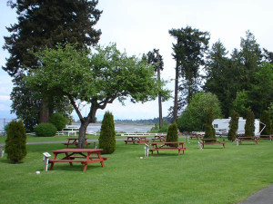 RV parks Oceanside Vancouver Island BC