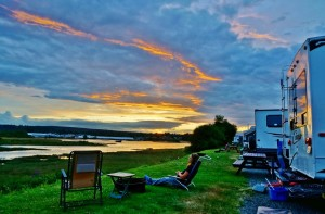 RV parks west coast vancouver Island
