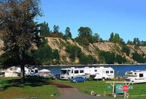RV park Nanoose Bay Vancouver Island BC