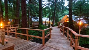 Resorts Clayquot Sound Tofino Vancouver Island BC