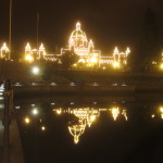 Bc Leigislature, provincial seat of government of British Columbia.